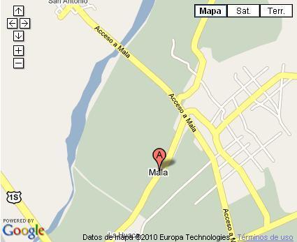 ubicacion mapa mala