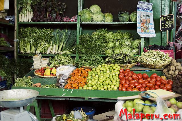 Mala Peru verduras