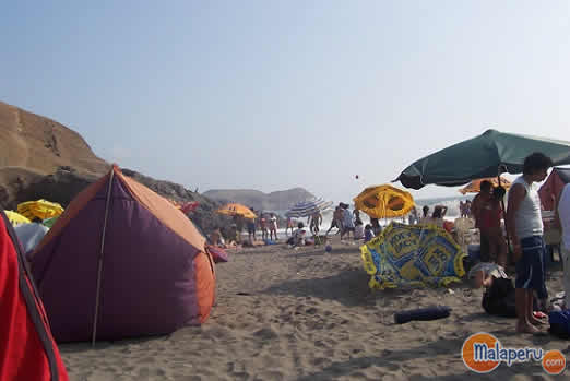 acampar playas 2013